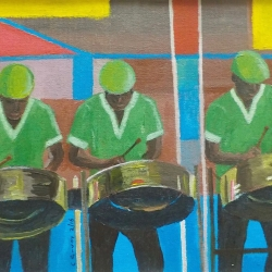 Steelband on Road, Carnival1800
